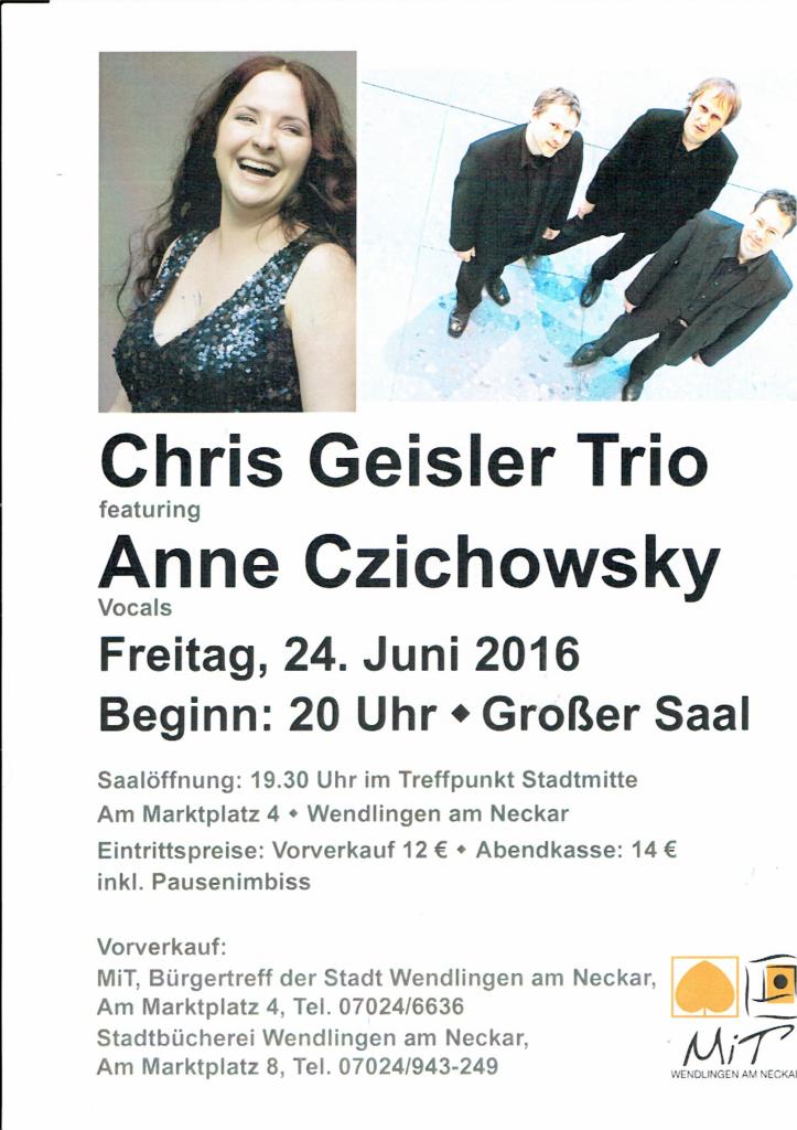 Trio + Anne