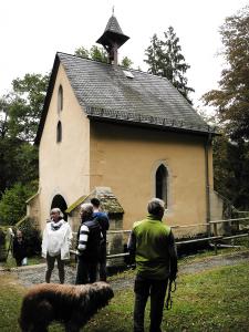 Die 1000 jährige Willigeskapelle.