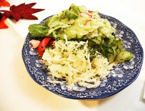Der berühmte gemischte Salat.